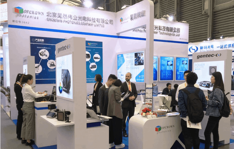 Gentec-EO Laser China 2018