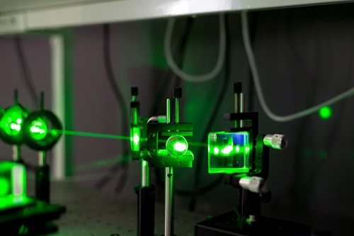Laser power measurement